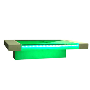 Waterfall swimming pool water acrylic outdoor spa sheer descent garden fountain water blade