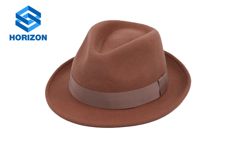 100% Wool hat felt hat wholesale with high quality