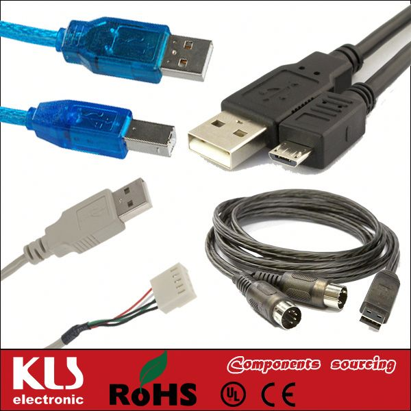 Good quality usb 3.0 cable am to af UL CE ROHS 433 KLS brand
