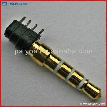 Macho 3 5mm Jack Plug 4 Conector Polo Buy 3 5mm Enchufe