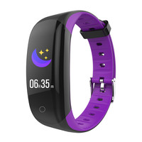 sport wristband bracelet bluetooth with heart rate and waterproof ip68 blood pressure heart