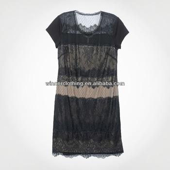 Loose Fit Vestidos De Cóctel 2018 Con Encaje Y Xxl Buy Vestidos De Cóctel 2018vestido Atractivovestido De Mujer Product On Alibabacom