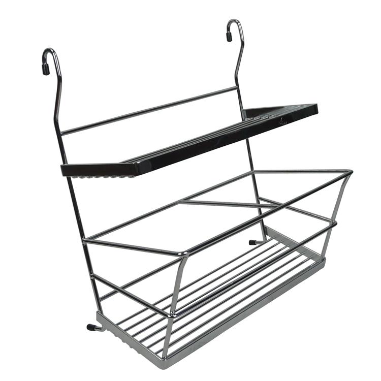 Sajv Metal Wire Kitchen Organizer Y Shelf E Rack