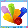 6 Pack Colorful BPA Free Silicone Ice Popsicle Maker/Commercial Popsicle Molds