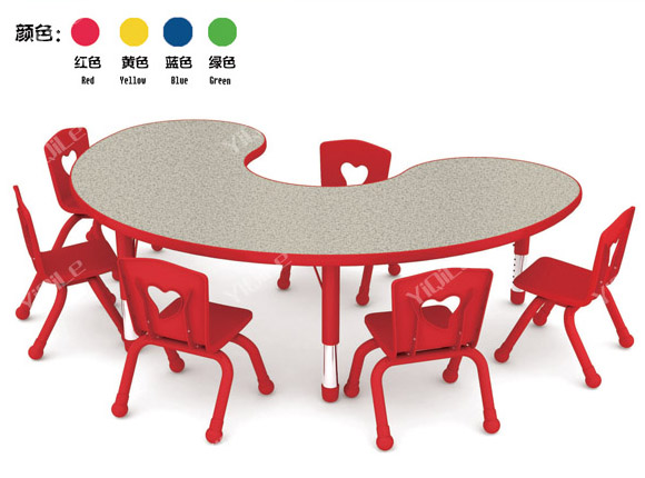 Play School Furnitures Kids Round Table Used Preschool Tables And