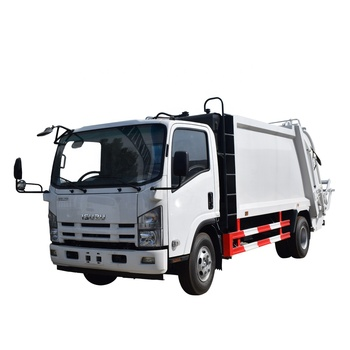 Japanese Brand  Small Dimensions  Garbage Compactor Truck for Sale