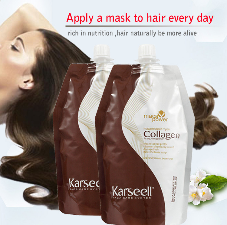 Marsaroni best keratin collagen hair mask with hair protein wholesales