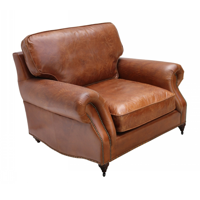Good Quality Leather Sofa: High Quality Leather French Style Antique Sofa