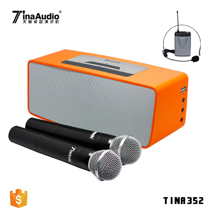 2018 portable handheld voice amplifier the loudest portable speaker with mic ultra-compact wireless portable pa system