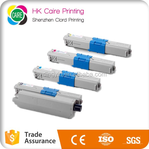 compatible Toner Cartridge for OKI C301 C321 C332 with cheimal powder