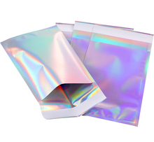 Neue Custom Mylar Laser holographische <span class=keywords><strong>tasche</strong></span> mit selbst-dicht band