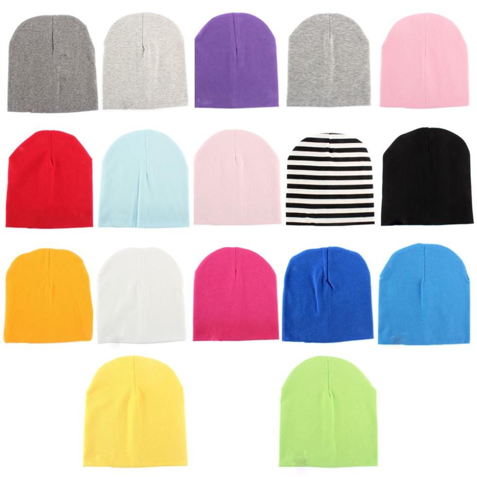 Chic Candy Colors Toddler Baby Boy Girl Cotton Warm Soft Crochet Cute Hat Cap Beanie