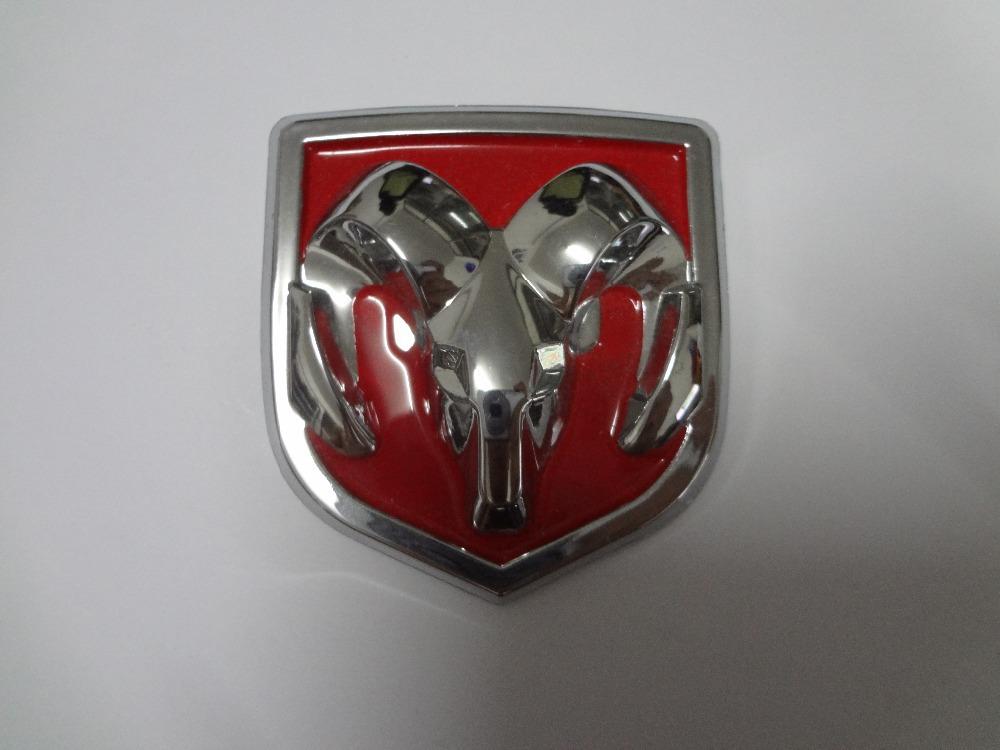 Новый 3d рам головного вагона наклейки зин-сплава металл эмблема и установка металла хром для укладки украшения для Dodge Ram зарядное устройство