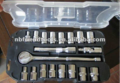 "20PCS 1/2"" Dr. SOCKET SET"