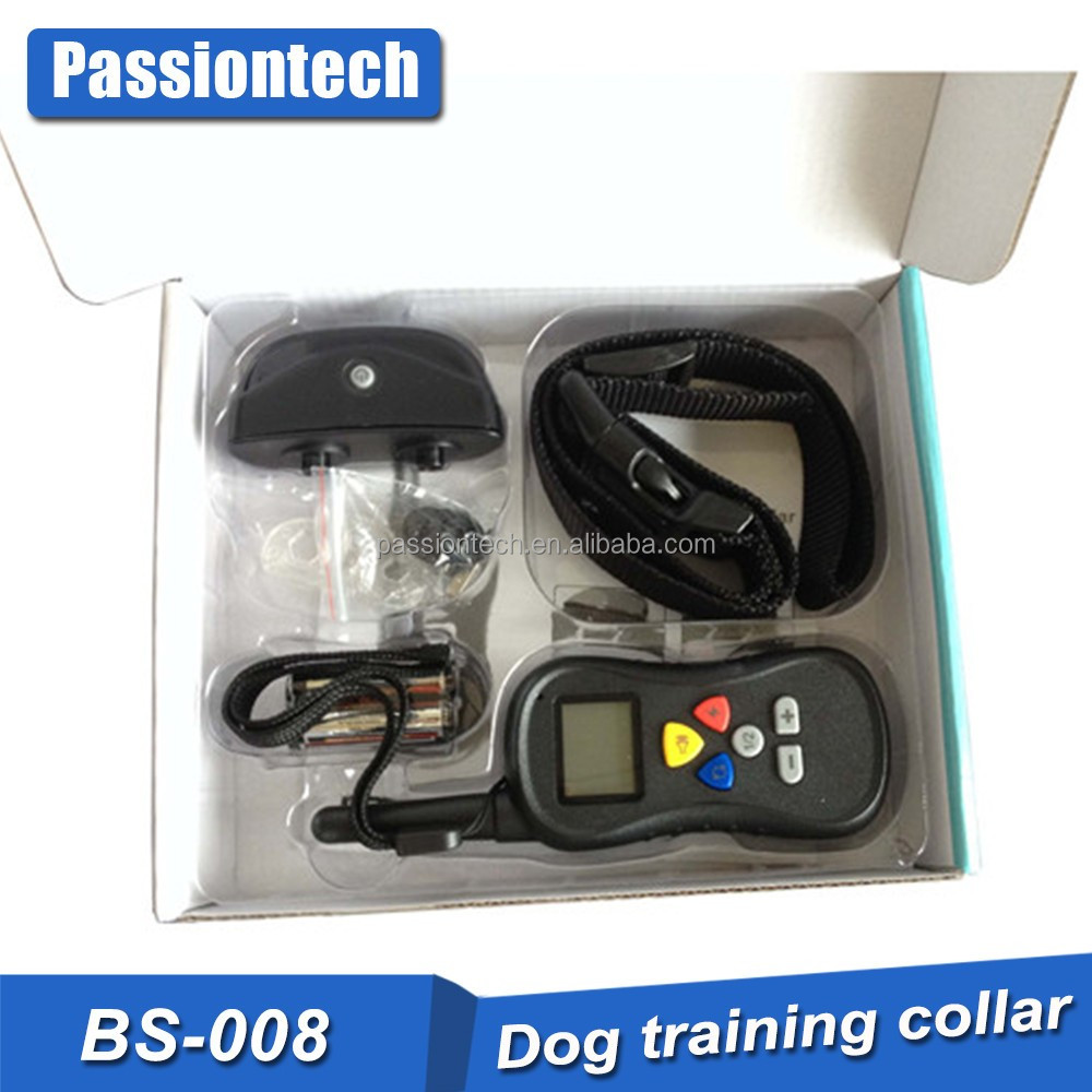 Easy-On Dog Prong Training Collar with Remote Transmitter