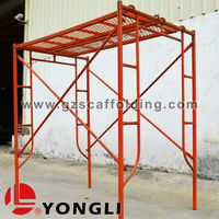 Light Duty Ladder h and Door Frame Scaffolding