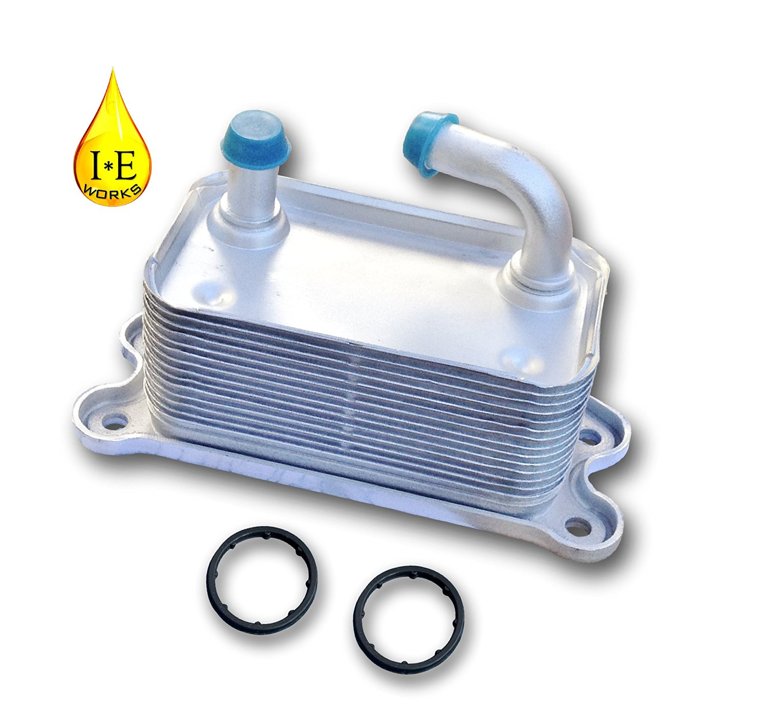 IE Works 31201909 New Engine Oil Cooler for VOLVO with O-Rings