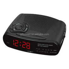 Led portátil AM/FM alarm clock radio