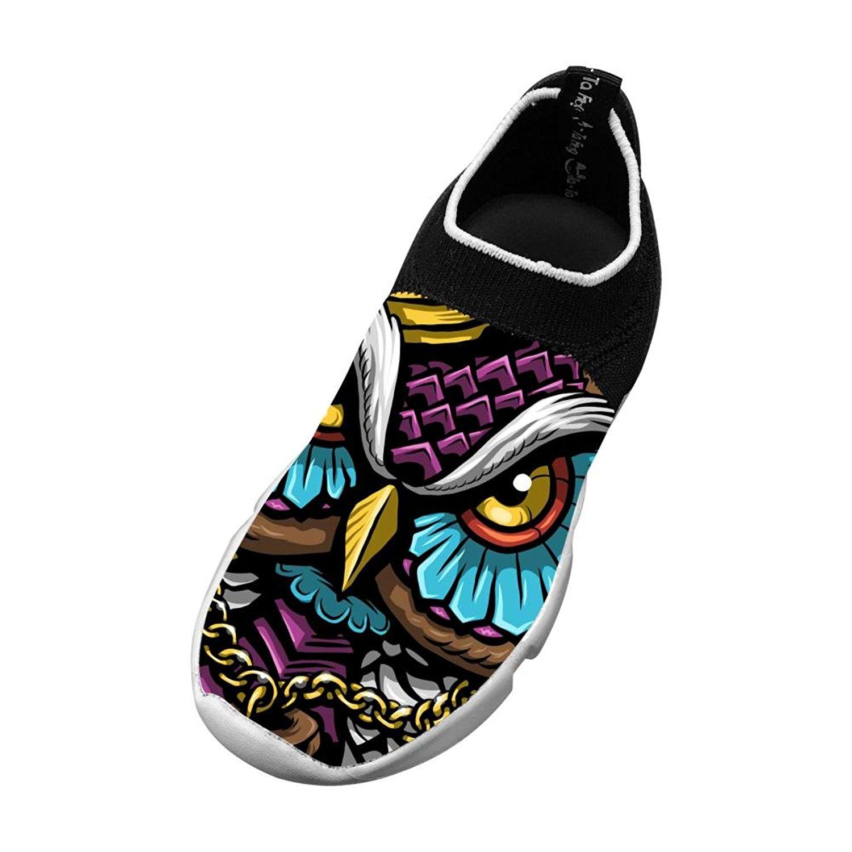 XieZbd Kids England Fashion Fly Knit Sneaker Shoes