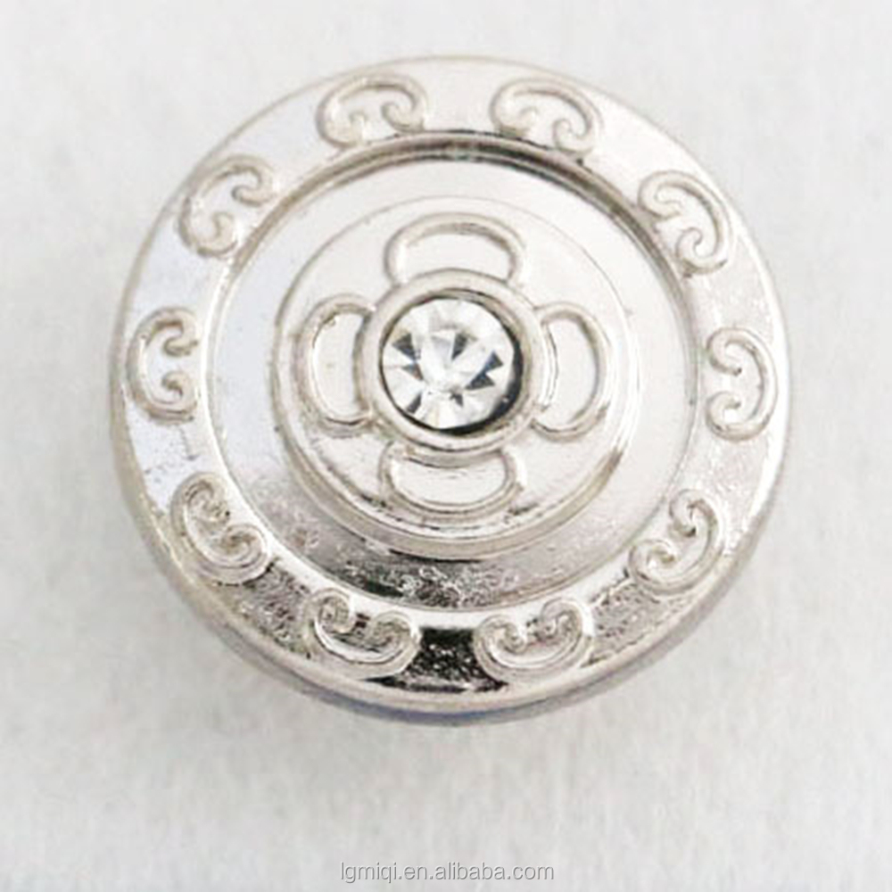 Fashion Zinc Alloy Jeans Jacket Button Garment Metal Tack Button
