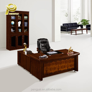 office furniture desk simple wooden office table decoration