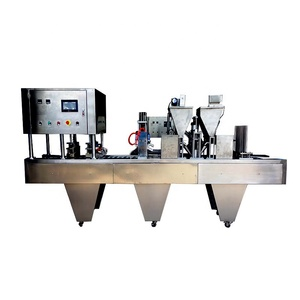 4 lanes k cup filling machine/k cup coffee capsule filling machine