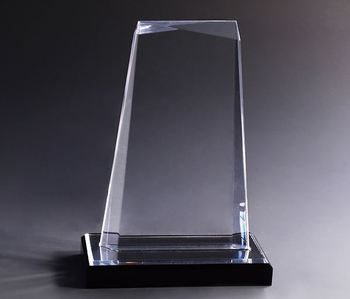 oscar trophy  Crystal Award Customized Clear Acrylic Trophy crystal trophy golf in china