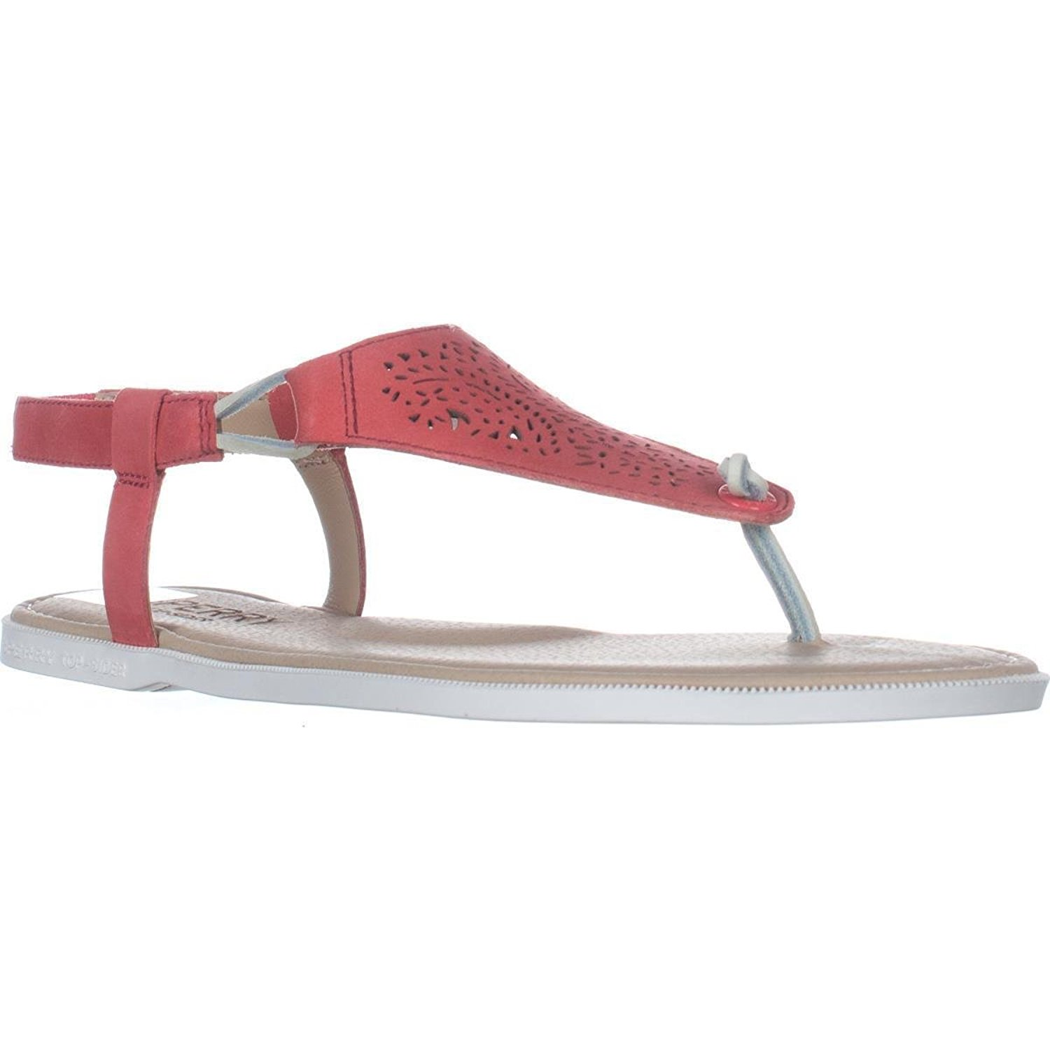 2a120e6140c Get Quotations · Sperry Top-Sider Calla Jade Flat Thong Sandals - Rose