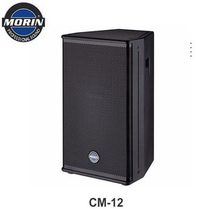 Big power pa professional aduio speaker for disco and meeting 12inch 8ohm Morin CM-collection