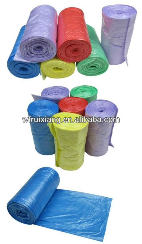 plastic garbage bag,biodegradable,eco-friendly