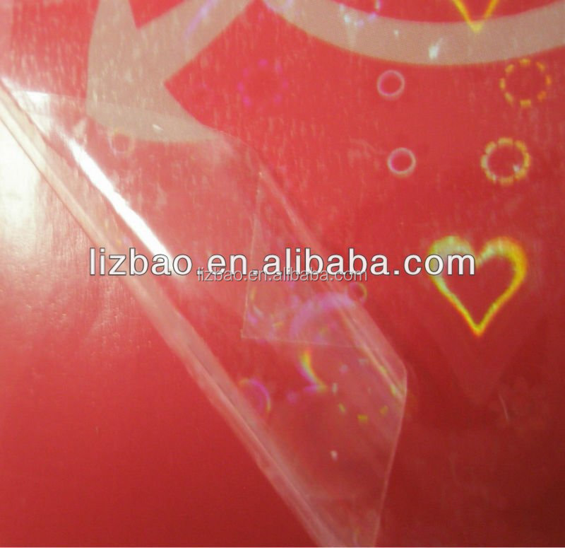 Pvc Material Sparkle Laminating Film For Photo