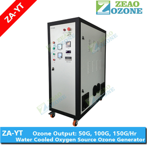 Urban waste water treatment ozone generator, heavy duty 100G, 200G, 500G ozonator manufacturer