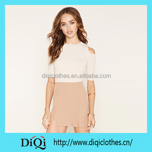 a04dba4c213 Chic Export New Arrival Guangzhou Factory Price Beige Vented Mini Little  Skirt