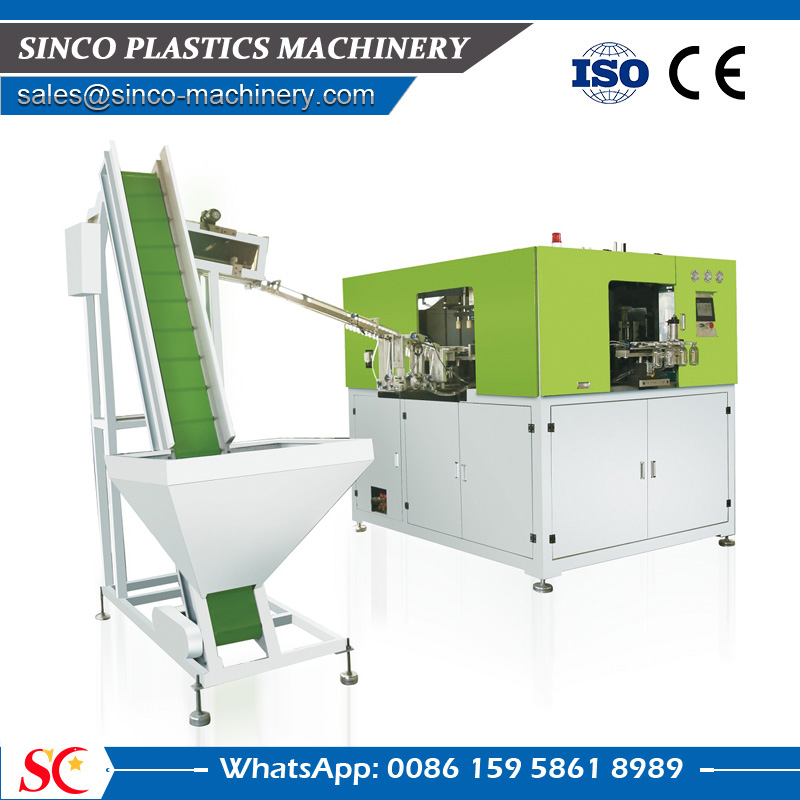 Full automatic PET bottle blow moulding machine price