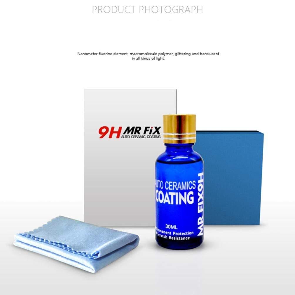 Sonmer 9H Car Super Hydrophobic Glass Coating, Liquid Ceramic Coat Auto Paint Care