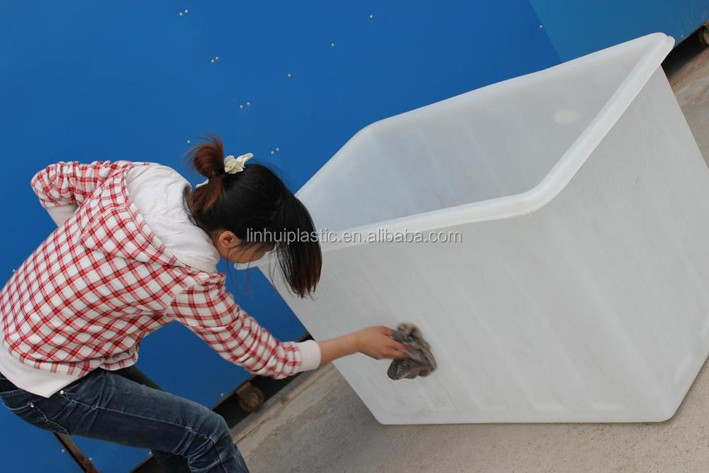 500liter lldpe large open top live fish transport tank for Used fish tanks for sale many sizes
