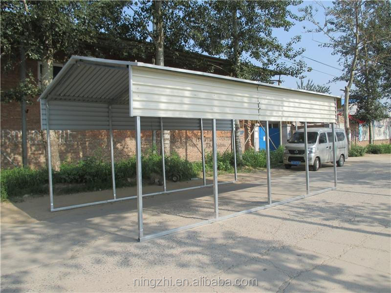 2 Car Sheds Portable Metal Steel Carport With Ce ...
