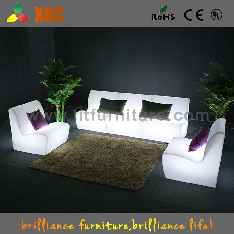 Night club furniture / restaurant sofa booth / curved back sofas /