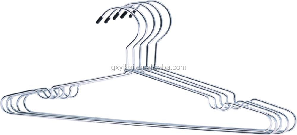 YIKAI Top sale cheap golden metal hanger for clothes