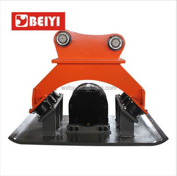 excavator attachments hydraulic vibrate compactor and vibro plate compactor in construction