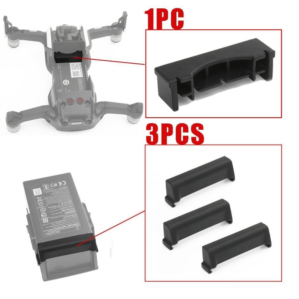 Frame Battery Charging Port Protector For DJI Mavic Air,1PC For Frame 3PC For Battery Dustproof Plug Cover Protect For DJI Mavic Air