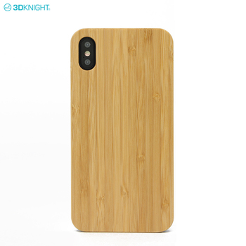 Unique Printed Mobile Back Hard Cover Bamboo Wood Phone Case for iphone XS MAX