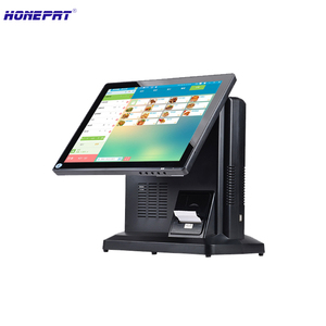 New import LCD Display 15 inch pos systems Cash Register all in one POS With 32G SSD