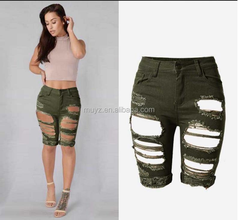 Women Tight Jeans Short Skin Tight Shorts, Women Tight Jeans Short ...