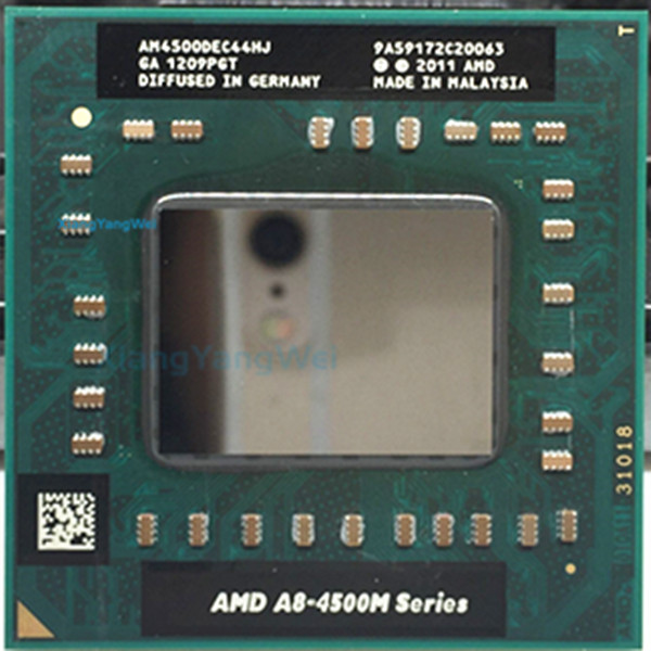 AMD A8 4500M laptop CPU Quad Core A8-4500M 1.9G Socket FS1 A8-Series Notebook