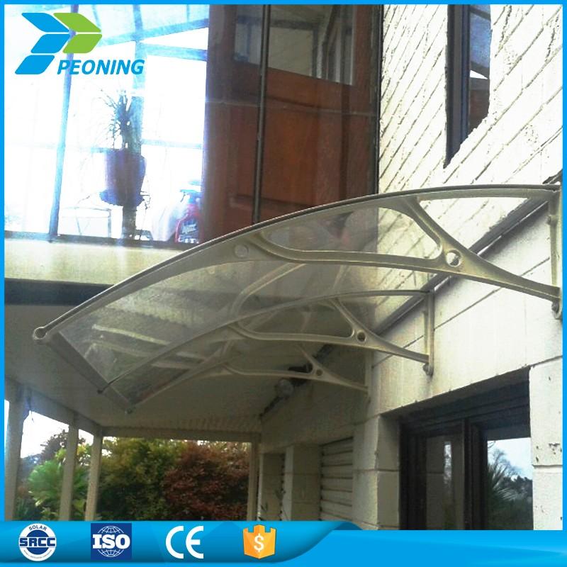 Promoci n directa de la f brica transparente de policarbonato hoja de techo de placa del panel - Techo transparente policarbonato ...