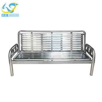 Livingroom Furniture Modern Sofa Metal Frame Stainless Steel Set