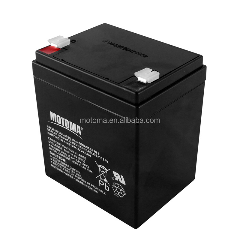 Rechargeable 12V 4ah Seal Lead Acid Battery for emergency light