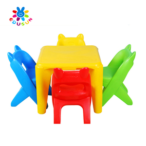 Four Color Plastic Student Table and Chair(XYH-0030)-plastic dining table and chair