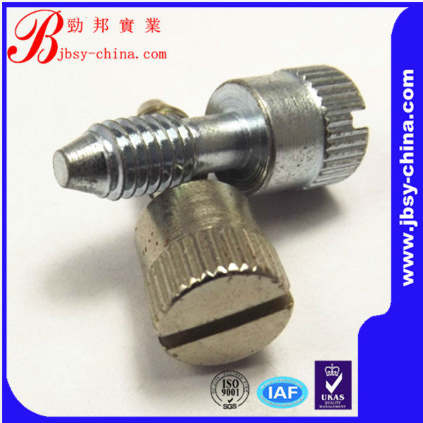 hardware nuts and bolts knurled bolt from shenzhen jingbang